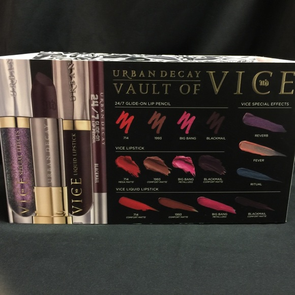 Vault Of Vice Urban Decay